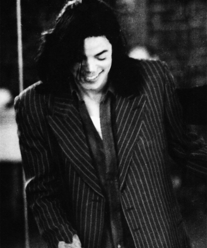 Michael Jackson wallpaper containing a business suit called My Main Man