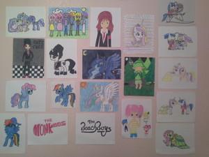 My दीवार of Art