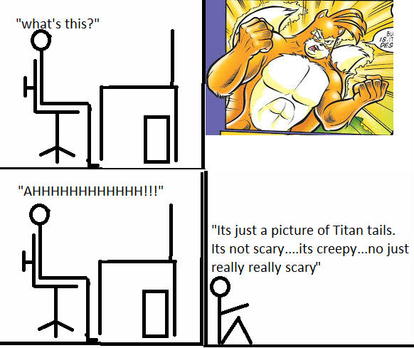 My reaction to Titan tails