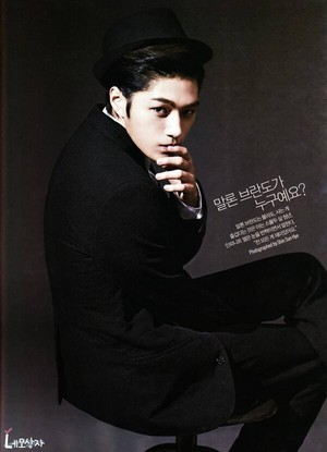 Myungsoo on L'Officiel Hommes Magazine November