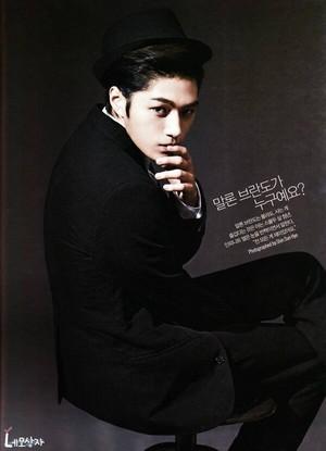Myungsoo on L'Officiel Hommes Magazine November