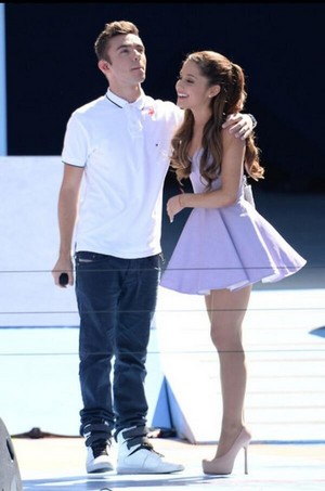 Nathan Sykes And Ariana Grande