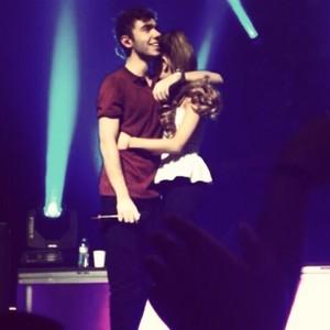 Nathan and Ariana Club Nokia ( 18/10/13)