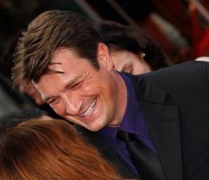 Nathan laughing