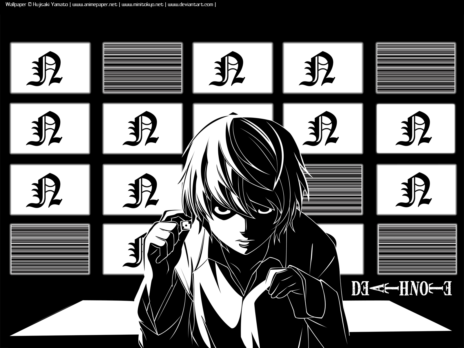 Psychological Anime Manga Images Near Wallpaper Note Hd Wallpaper And Background Photos