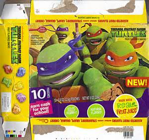 2012 Teenage Mutant Ninja Turtles দেওয়ালপত্র probably containing a canned meat and জীবন্ত entitled Ninja কচ্ছপ ফলমূল Snacks