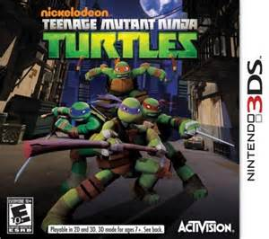 2012 Teenage Mutant Ninja Turtles wallpaper containing anime entitled Ninja penyu, kura-kura Video Game