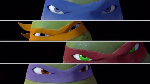 2012 Teenage Mutant Ninja Turtles 壁紙 titled Ninja Turtles