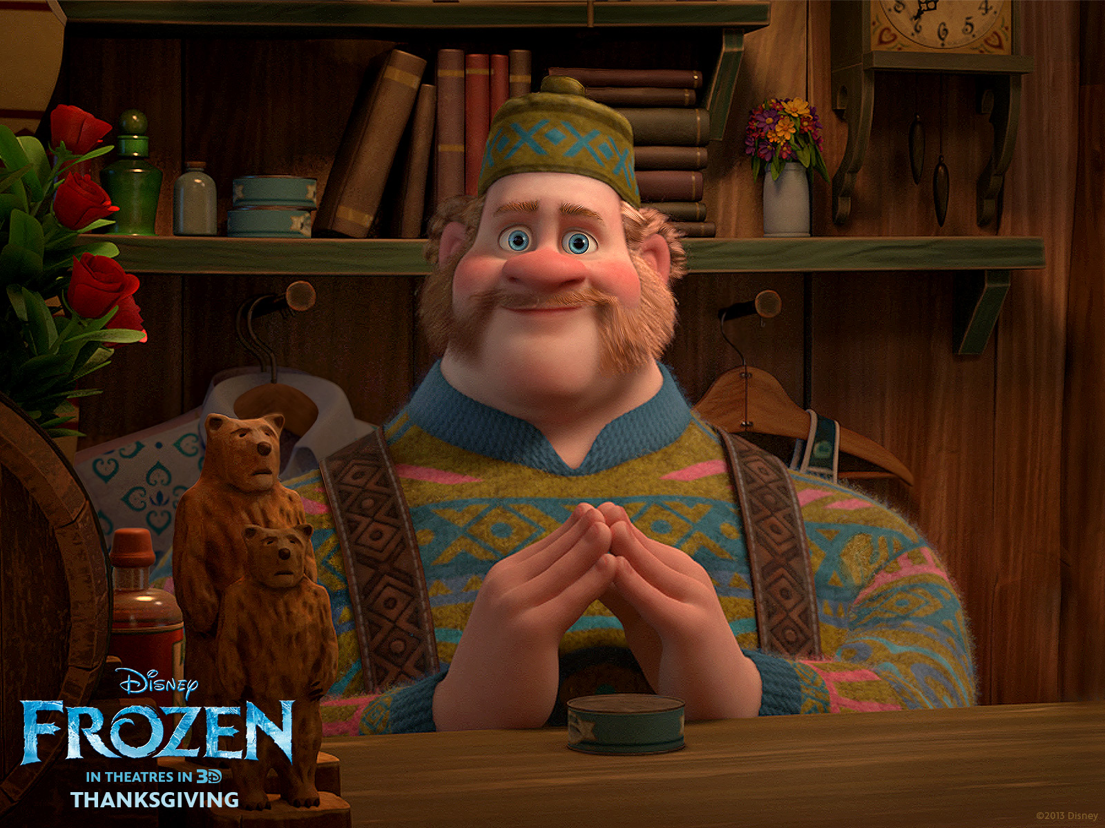 Oaken wallpaper