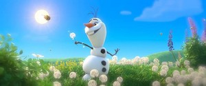 Olaf - A Snowman in Summer