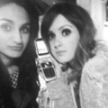 On Set With Laura Marano For Nationalist Magazine!