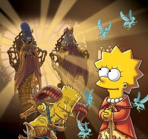 "mga litrato from THE SIMPSONS: ""Treehouse of Horror XXIV"""