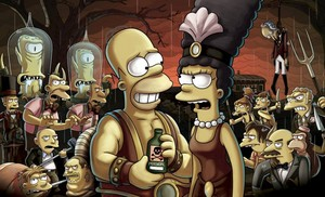 """photos from THE SIMPSONS: """"Treehouse of Horror XXIV"""""""