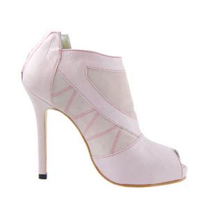 rosado, rosa Ankle Boots, High Heel Ankle Boots, Kathryn Howard