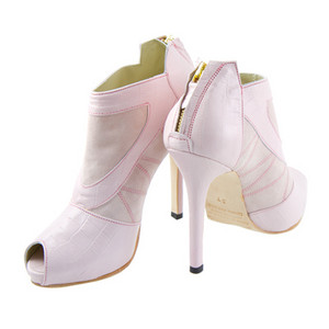 Pink Ankle Boots, High Heel Ankle Boots, Kathryn Howard