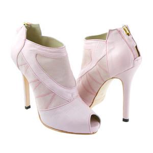 merah jambu Ankle Boots, High Heel Ankle Boots, Kathryn Howard