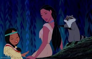 Pocahontas and Tiger Lily