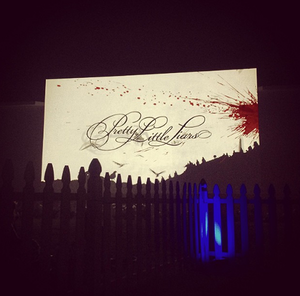 Pretty Little Liars at the special event screening of PLL and Ravenswood tonight in Los Angel