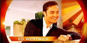 vista previa of Ed Westwick's appearance on the queen Latifah mostrar