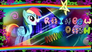pelangi, rainbow DASH