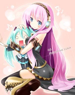যেভাবে খুশী Vocaloid pics I found