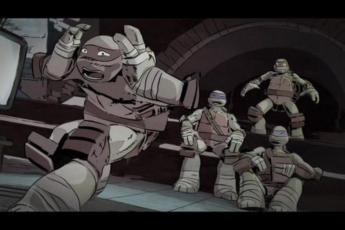 2012 Teenage Mutant Ninja Turtles wallpaper containing anime titled Raphael