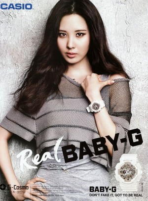 Real Baby-G Seohyun