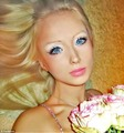 Real Life Girl who looks like Barbie (Valeria Luckyanova from Ukraine) No photoshop of wax statue
