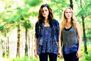 """Rebekah and Hayley in 1x05 """"Sinners and Saints"""""""