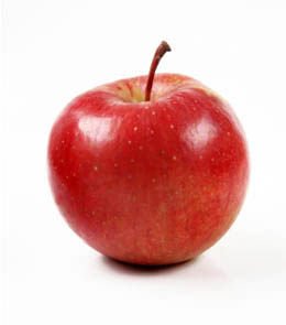 Red mela, apple