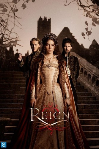 Reign [TV Show] wallpaper probably with a pelliccia cappotto titled Reign - New Promotional Poster