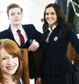 Richelle Mead on the VA set - vampire-academy photo