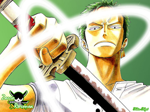 वन पीस वॉलपेपर containing a chainlink fence titled RoronoaZoro