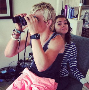 Ross and Maia mitchell