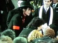 Ryan White's Funeral Back In 1990 - michael-jackson photo
