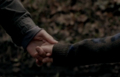 Rydian and Maddy holding hands - wolfblood photo