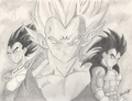 Saiyan Prince - dragon-ball-z fan art