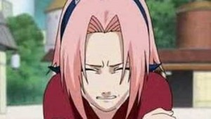 Sakura crying...♥