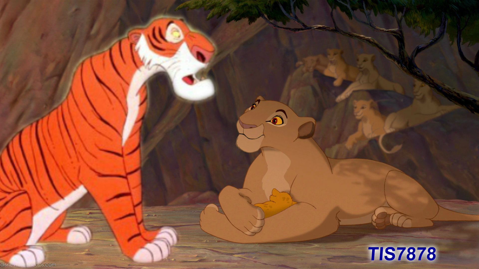 Sarabi Has A Surprise For Shere Khan