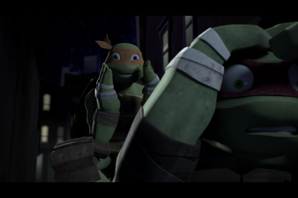 Scared Raphael