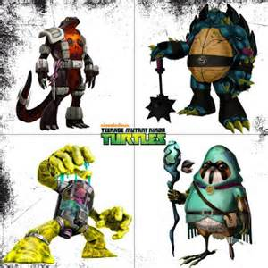 2012 Teenage Mutant Ninja Turtles wallpaper possibly containing anime entitled Season Two Characters!!