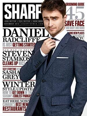 Sharp Magazine (fb.com/DanielRadcliffefanclub)