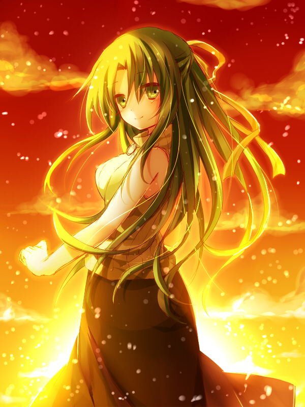 Shion Sonozaki Higurashi No Naku Koro Ni Fan Art 35870146 Fanpop