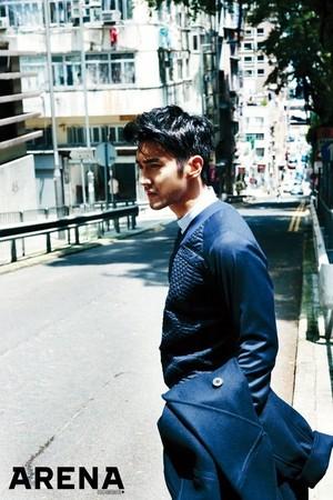 Siwon 'Arena Homme Plus'