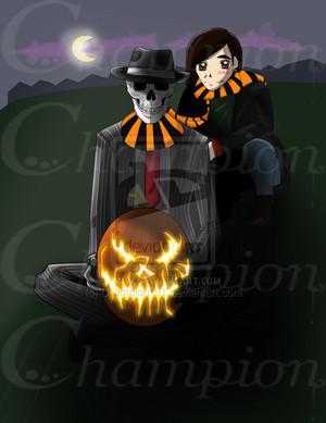 Skulduggery Хэллоуин