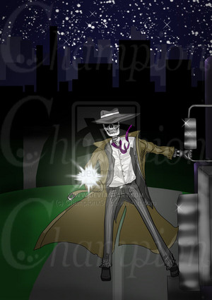 Skulduggery Pleasant - Action