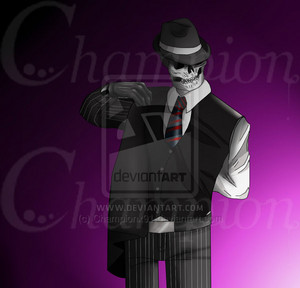 Skulduggery Pleasant - Clothes