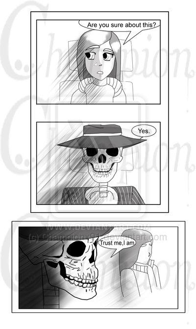 Skulduggery comic pg1:complete: