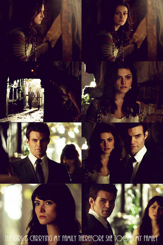 Elijah & Hayley Обои called Sophie: If Klaus betrays us, Hayley will die. Ты have my word on that.