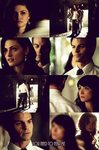 Elijah & Hayley پیپر وال entitled Sophie: If Klaus betrays us, Hayley will die. آپ have my word on that.
